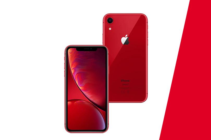 Красный iPhone XR