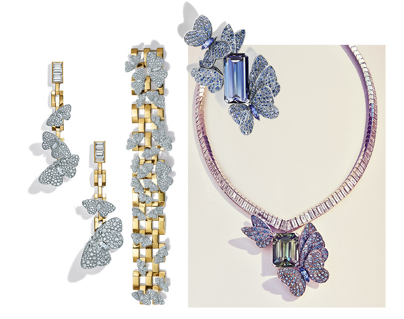 Бриллиантовый лед и драгоценные мотыльки: новая коллекция Blue Book от Tiffany&Co.