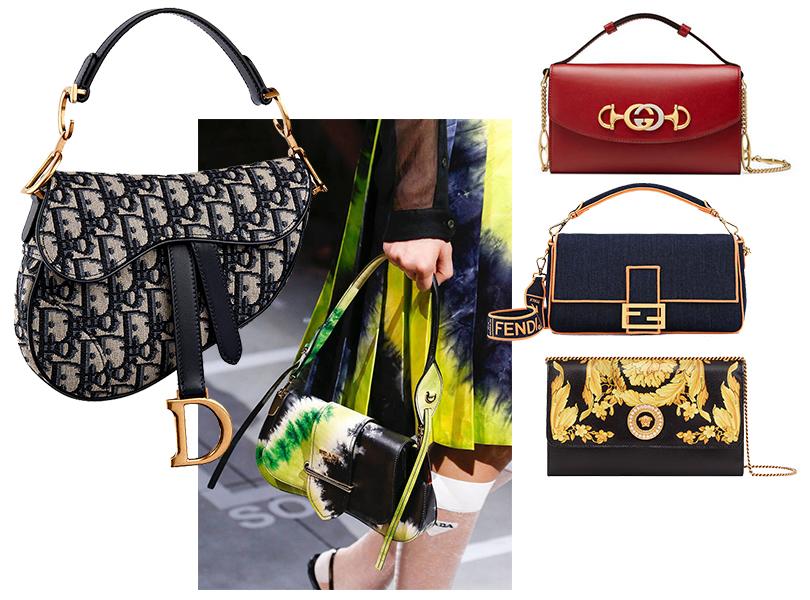 It-bags из 90-х и «нулевых»: Prada весна/лето 2019; сумки Dior, Gucci, Fendi, Versace