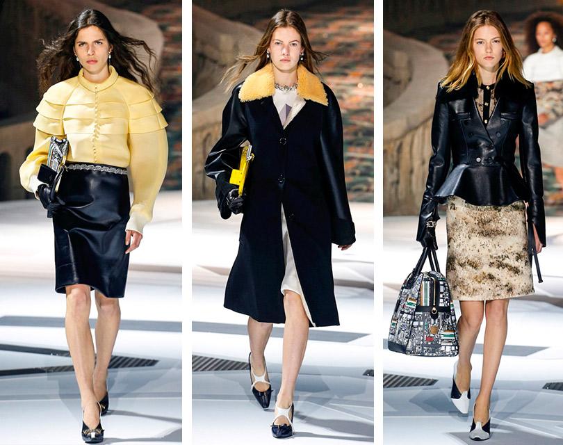 Конфликт прошлого ибудущего напоказе Louis Vuitton