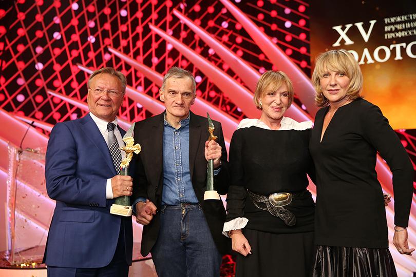 КиноТеатр: премия «Золотой орел» в 2017 году. Сергей Шакуров, Елена Яковлева