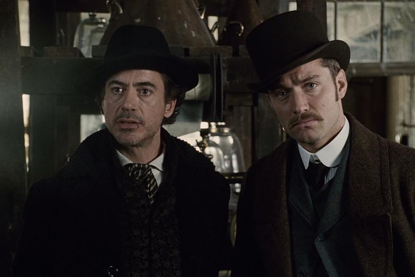 Что посмотреть ввыходные: проводим время сгероями фильмов Гая Ричи. «Шерлок Холмс» (2009)