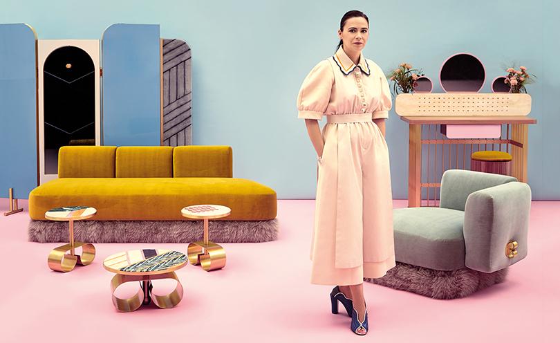 Дизайн &Декор: мебельная коллекция Fendi Happy Room наярмарке Design Miami. Кристина Челестино