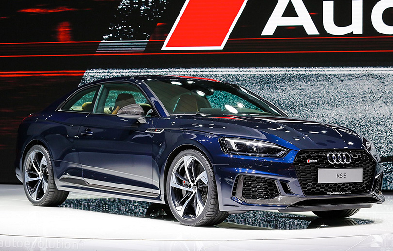 Cars with Jan Coomans: new at the 2017 Geneva Motor Show. Audi RS5 Coupe