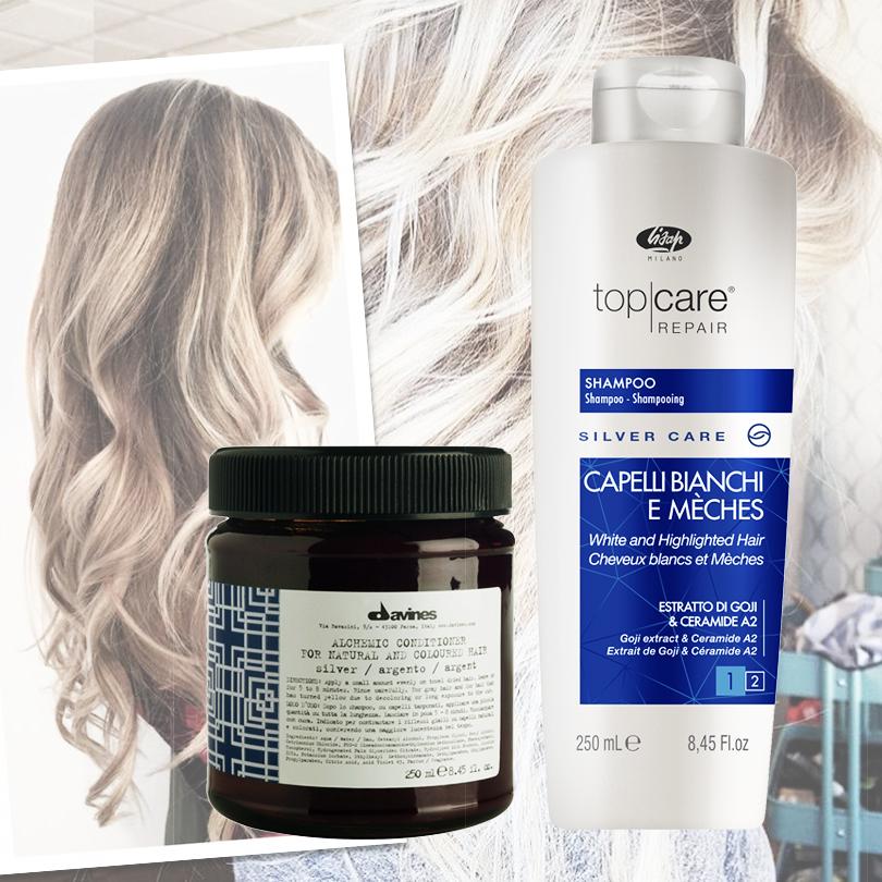 Hair & Style: с новым блондом! Как сохранить цвет волос без желтизны. Top Care от Lisap Milano, Alchemic от Davines