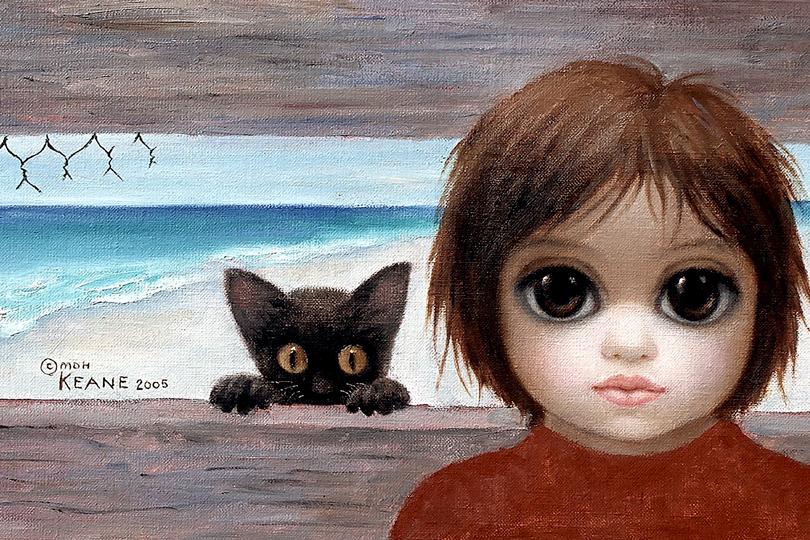 Большие глаза: вмире Маргарет Кин