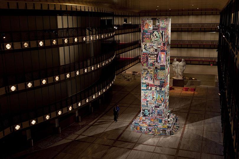 Faile иThe New York City Ballet— инсталляция Faile Tower, 2013
