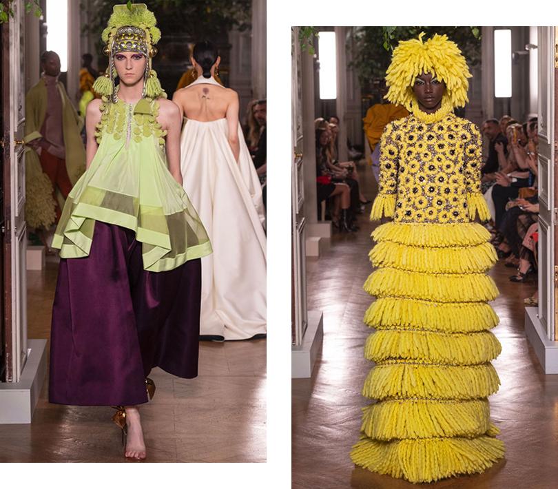 В Африку! Вдохновение этникой и торжество многообразия в новой коллекции Valentino Couture