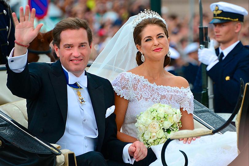 Кристофер О'Нилл и принцесса Мадлен