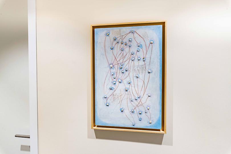 Работа Ильи Федотова-Федорова из серии «Невидимые схемы передачи» (2016 г.), коллекция Credit Suisse