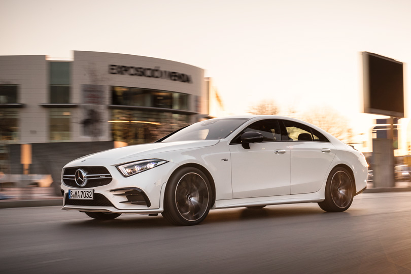 Cars with Jan Coomans. The all new Mercedes-AMG CLS 53