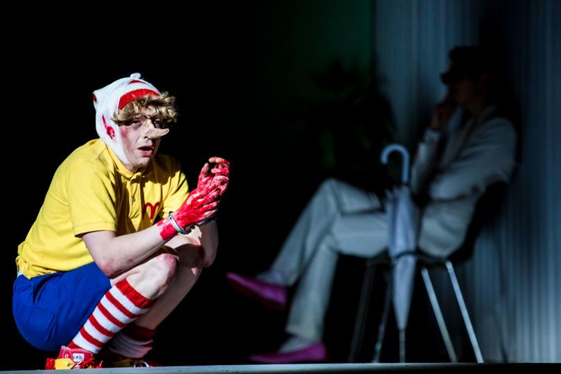 В«Гоголь-центре» прошла премьера спектакля «Маяковский. Трагедия». Александр Горчилин