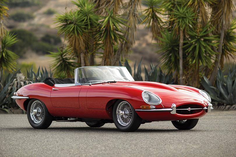 Машины Харви Спектера: Jaguar XK-E Series-I 1961