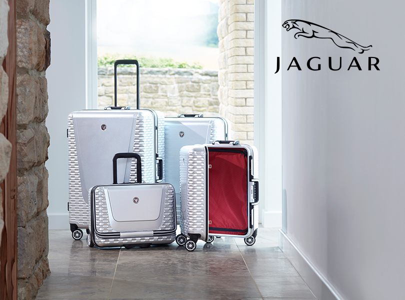 Самые красивые чемоданы и другой багаж из lifestyle-коллекции: Jaguar