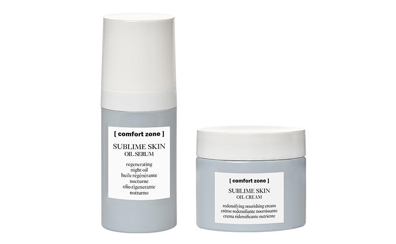 Питательный крем ивосстанавливающая ночная масло-сыворотка Sublime Skin, [ comfort zone ]