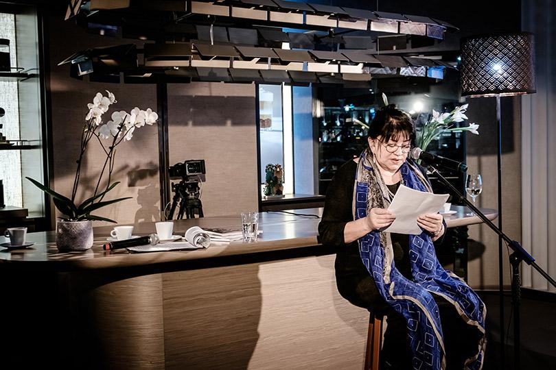 Литературный вечер ипредпремьера фильма «Избранники» вэкобутике Nespresso. Татьяна Толстая