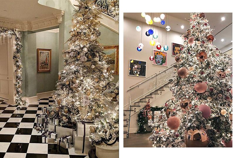 Инстаграм недели: дух Рождества— самые красивые елки зарубежных знаменитостей. Никки и Пэрис Хилтон. Кайли Дженнер