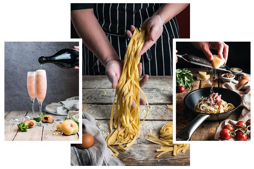 Итальянская кухня «по-питерски» вресторане Italy