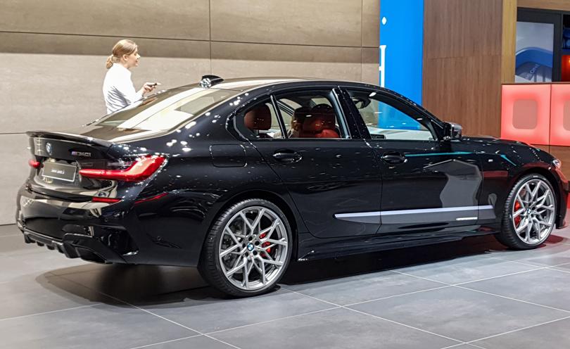 Cars with Jan Coomans. Geneva International Motor Show 2019. BMW M340i
