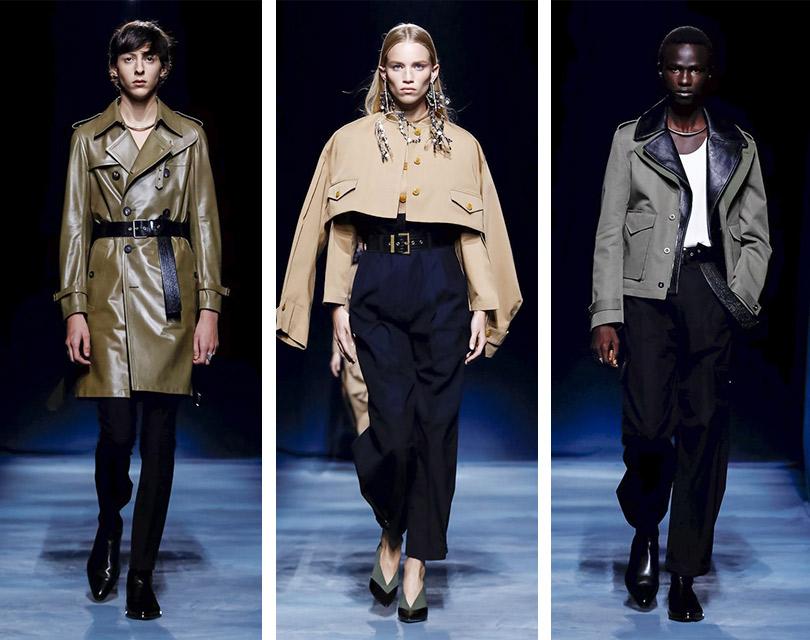 Под мальчика: показ коллекции Givenchy весна-лето 2019