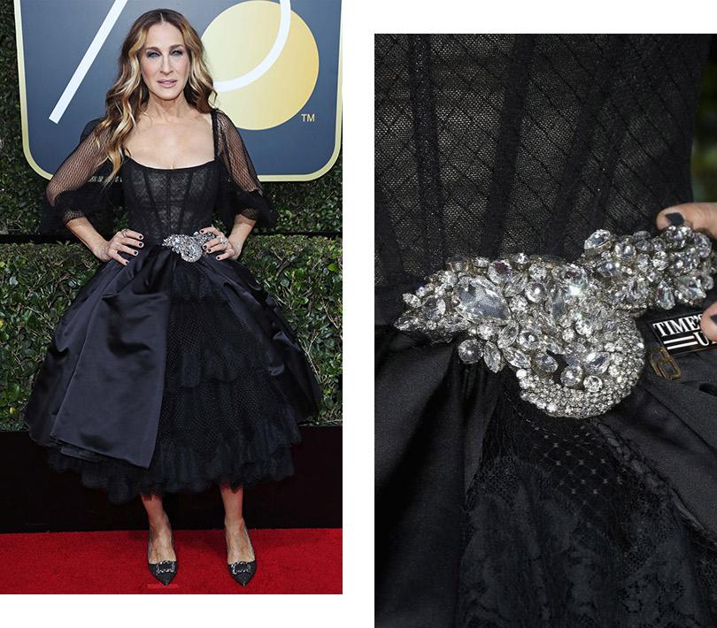 Сара Джессика Паркер вDolce &Gabbana исозначком организации Time's Up