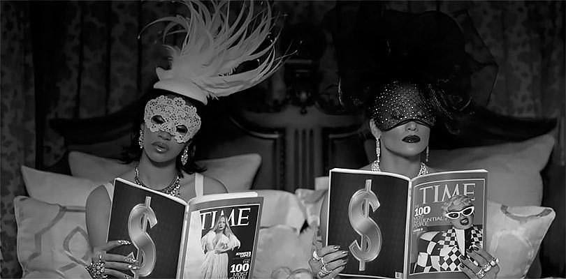 Фотоувеличение: Дженнифер Лопес вбриллиантах Tiffany &Co.вновом клипе Dinero