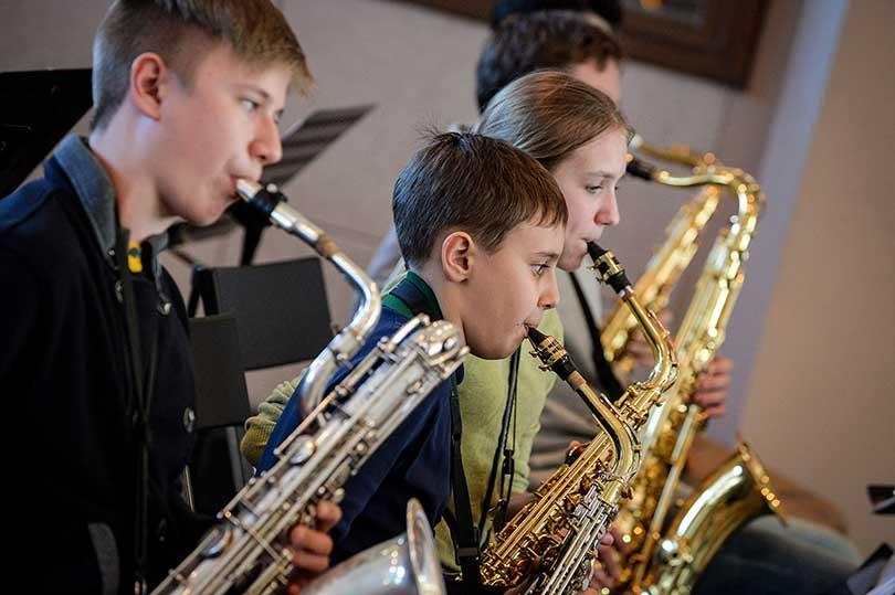 Идея дня: XVII международный фестиваль «Триумф джаза». Репетиция первого детского фестиваля «Триумф джаза»