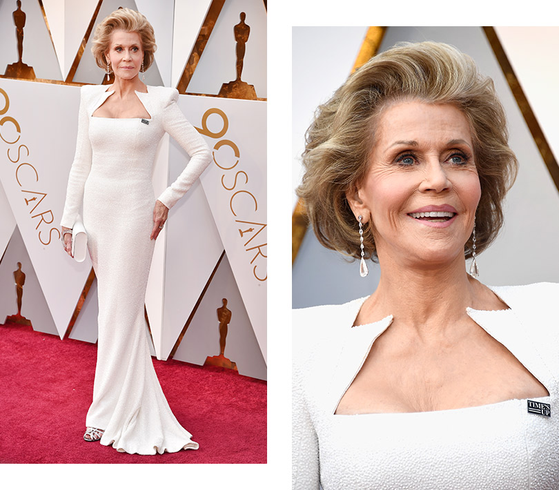 Часы &Караты: роскошные украшения церемонии «Оскар». Джейн Фонда