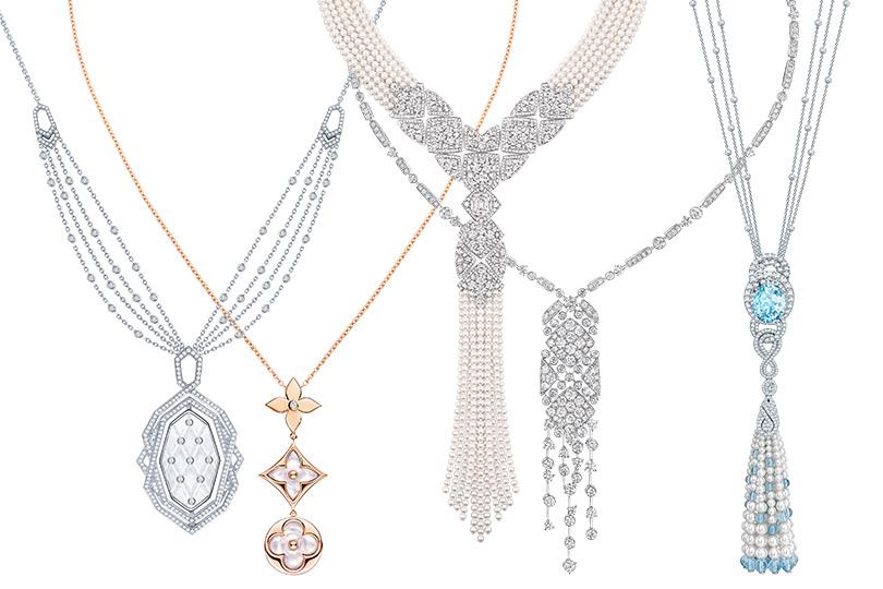 Garrard, Louis Vuitton Blossom, Chanel Signature dePerles, Chanel Signature Surpiquée, Garrard
