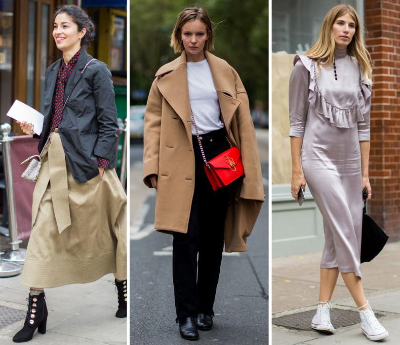 Street Style: лучшие образы на Неделе моды в Лондоне. Кэролайн Исса. Актриса Дайан Руксель. Вероника Хейлбрюннер