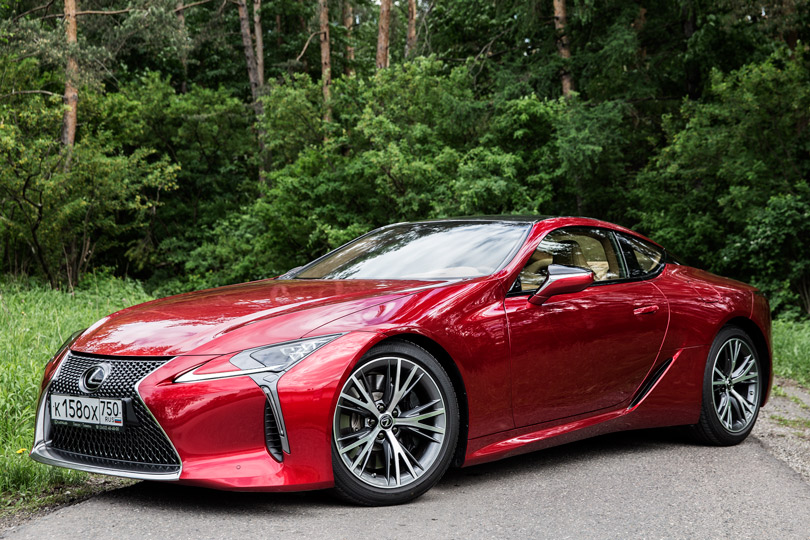 Cars with Jan Coomans. Lexus LC 500 review — art from the land of the rising sun