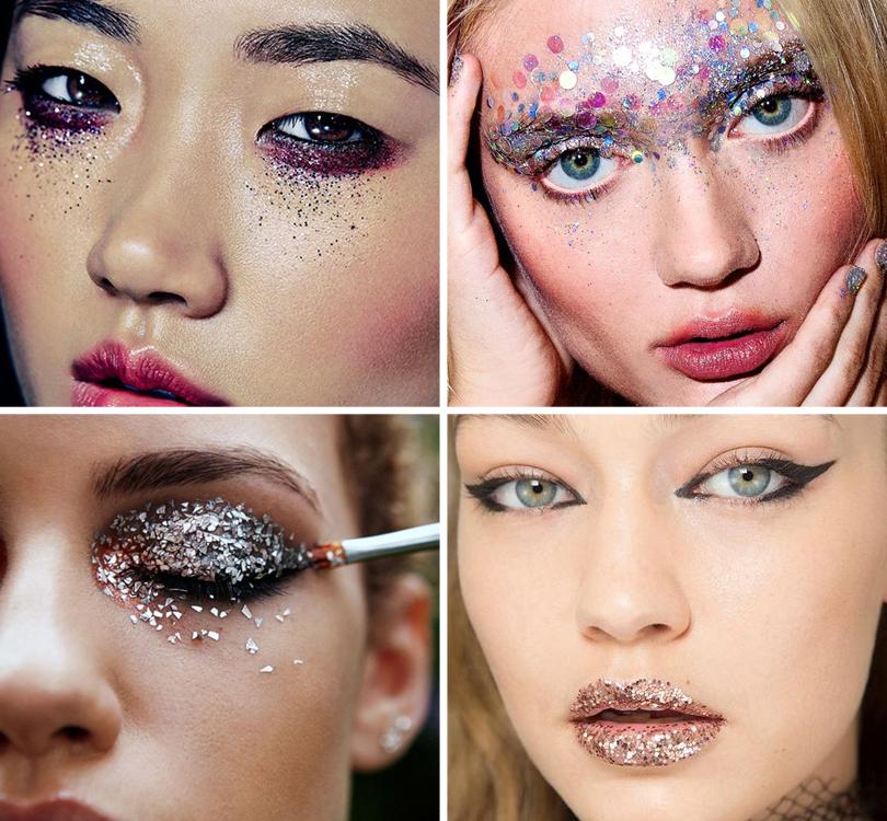 Новый год. Total Beauty: 9бьюти-трендов уходящего 2016 года. Глиттер