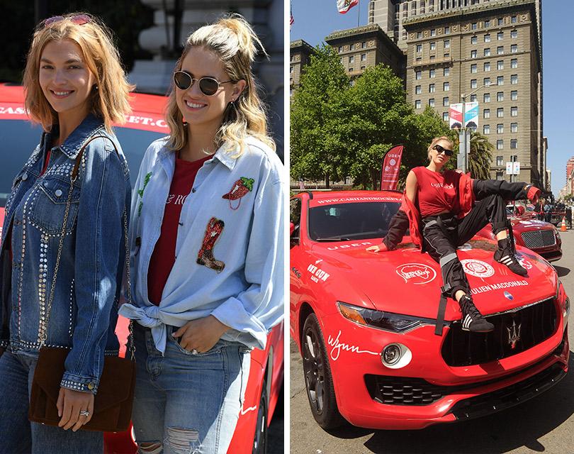 Зарулем внедорожников Maserati наавтопробеге Cash &Rocket Tour 2018. Аризона Мьюз и Коуди Хорн. Елена Перминова