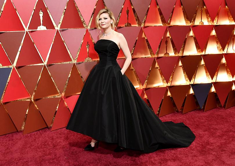 Oscars Special 2017: образы звезд на красной ковровой дорожке церемонии «Оскар». Кирстен Данст в Dior Haute Couture