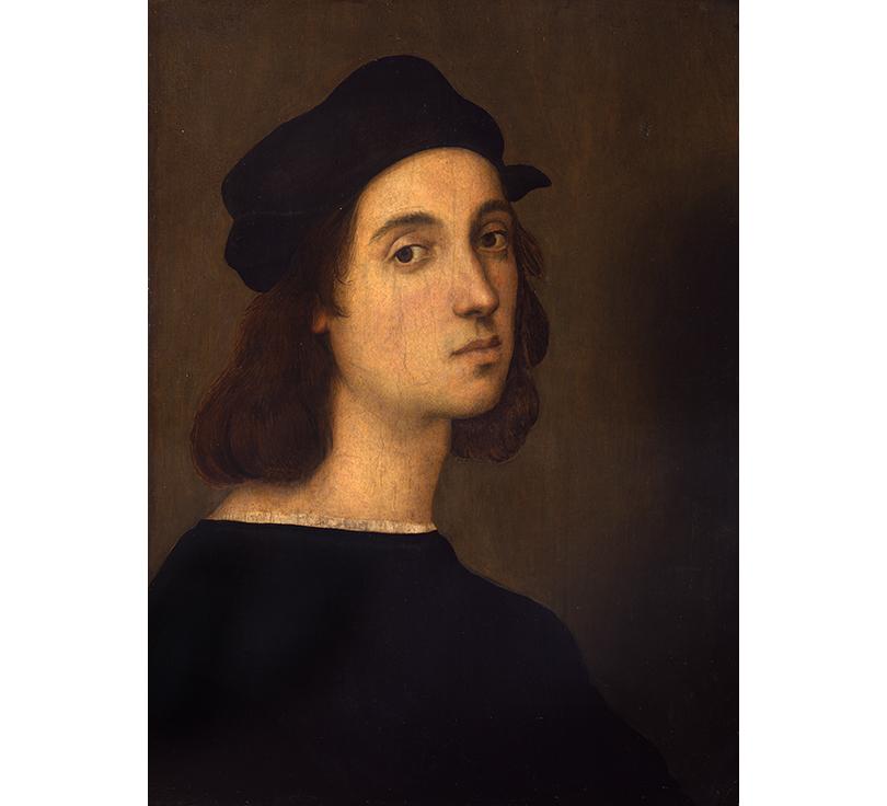 Art & More: по следам Рафаэля. Выставка великого итальянца в Пушкинском музее. Автопортрет, Галереи Уффици, Флоренция