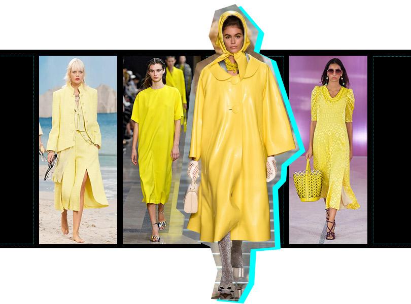 Все оттенки желтого: Chanel, Rochas, Marc Jacobs, Kate Spade