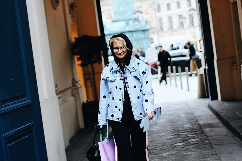 Street Style: лучшие образы уличной моды сParis Couture осень-зима— 2018. Эвелина Хромченко