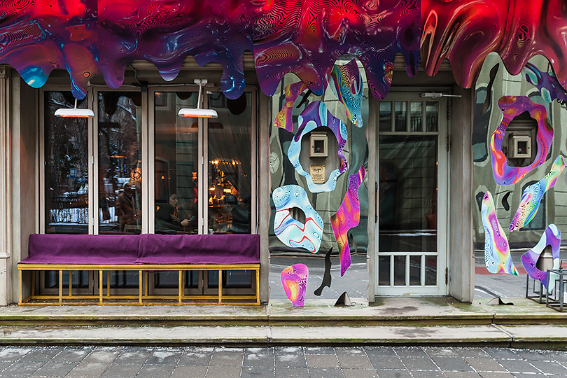 Как молодые российские художники штурмуют московские рестораны. Виктор Поляков (ресторан Uilliam's)