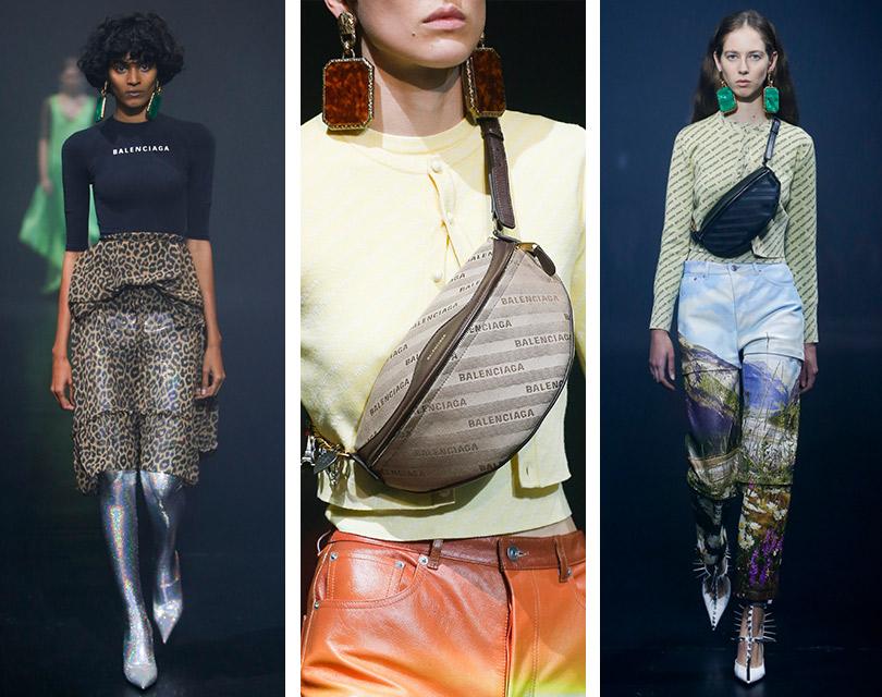 Как это носить: возвращение логомании. Balenciaga
