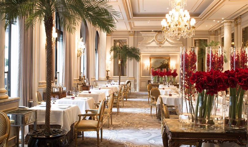 Один отель, три ресторана ипять звезд Michelin впарижском GeorgeV. LeCinq