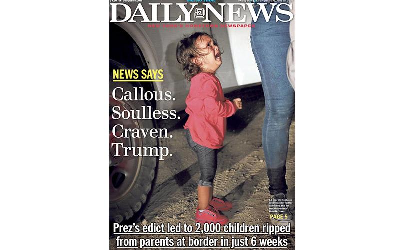 Пограничные службы США разделяют семьи прибывающих в страну нелегальных мигрантов