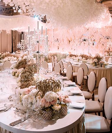 Как организовать и оформить свадьбу мечты. Сервировка— всему голова!