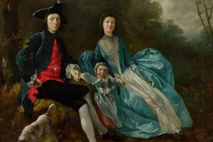 «Семейный альбом Гейнсборо» Национальная портретная галерея, Лондон, Великобритания До 3 февраля