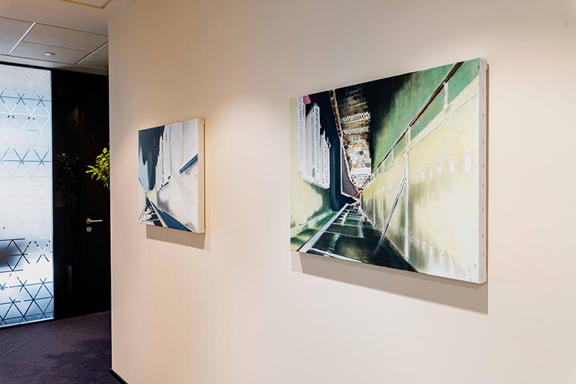 Работа Веры Ида Мюллер «Секвенция» (2008 г.), коллекция Credit Suisse
