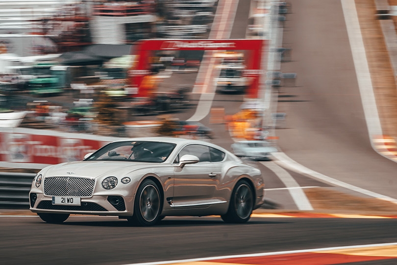 Cars with Jan Coomans. The 24 hours of Spa, and some rather special Bentleys