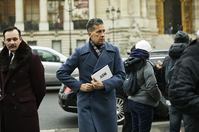 Street Style: эксклюзивные фотографии совторого дня Недели кутюра вПариже вобъективе ИноКо. Стефано Тончи