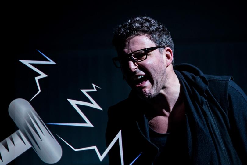 В«Гоголь-центре» прошла премьера спектакля «Маяковский. Трагедия». Максим Виторган