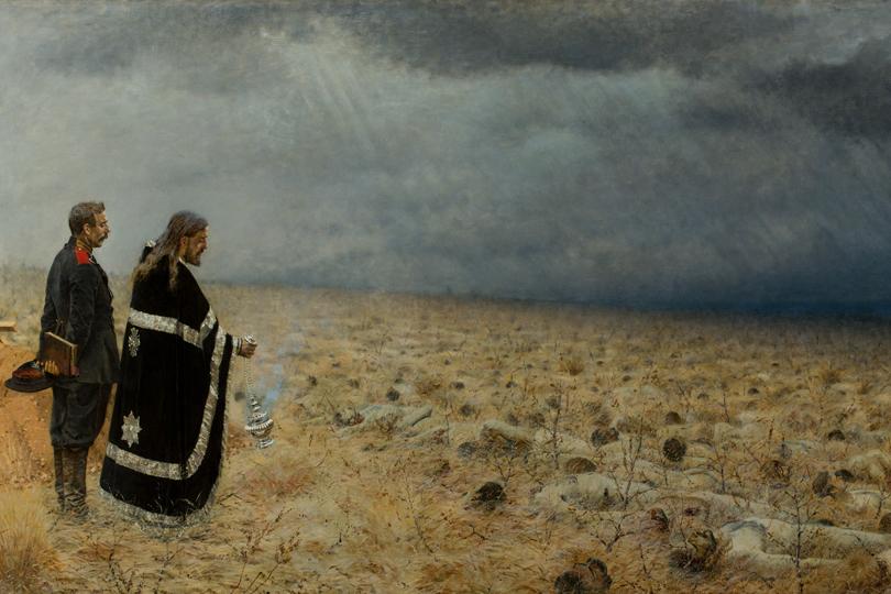 Побежденные. Панихида. 1878-1879