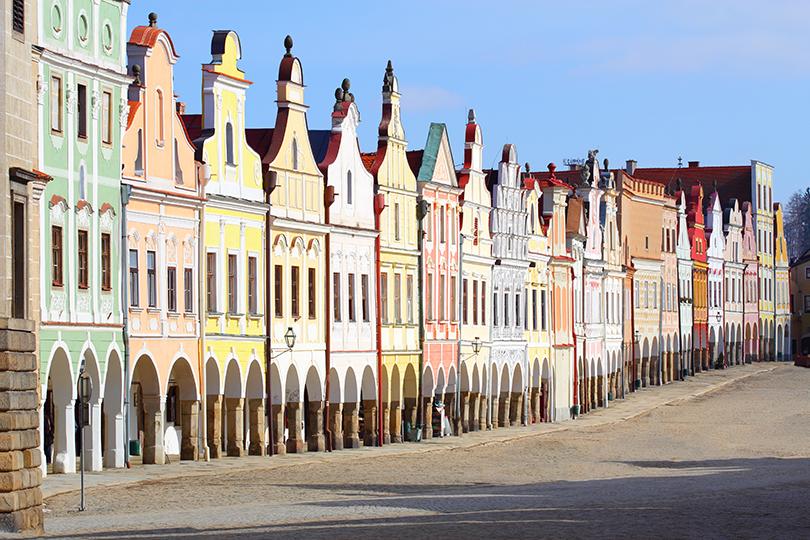 Планы налето: живописные города Европы, которые можно обойти пешком. Тельч, Чехия