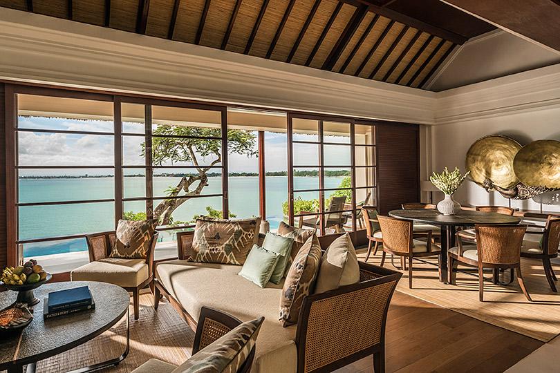 Два водном: идеальный отдых наБали. Побережье: Four Seasons Resort Bali atJimbaran Bay